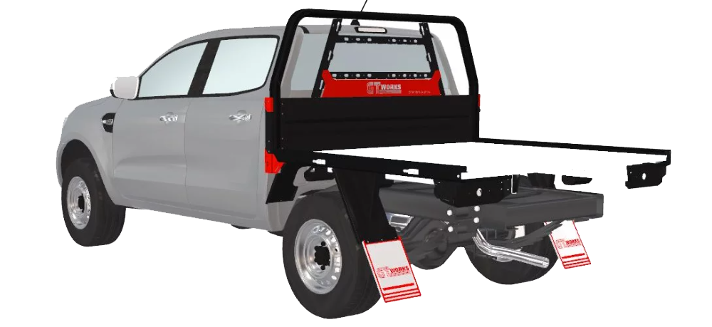 Redroo Offroad UTE TRAY Transparent