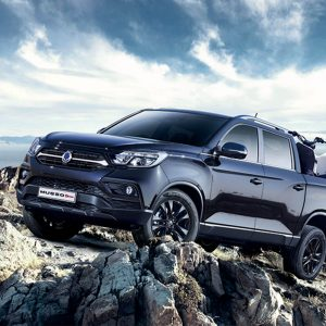 Ssangyong Hidden Winch Mounts